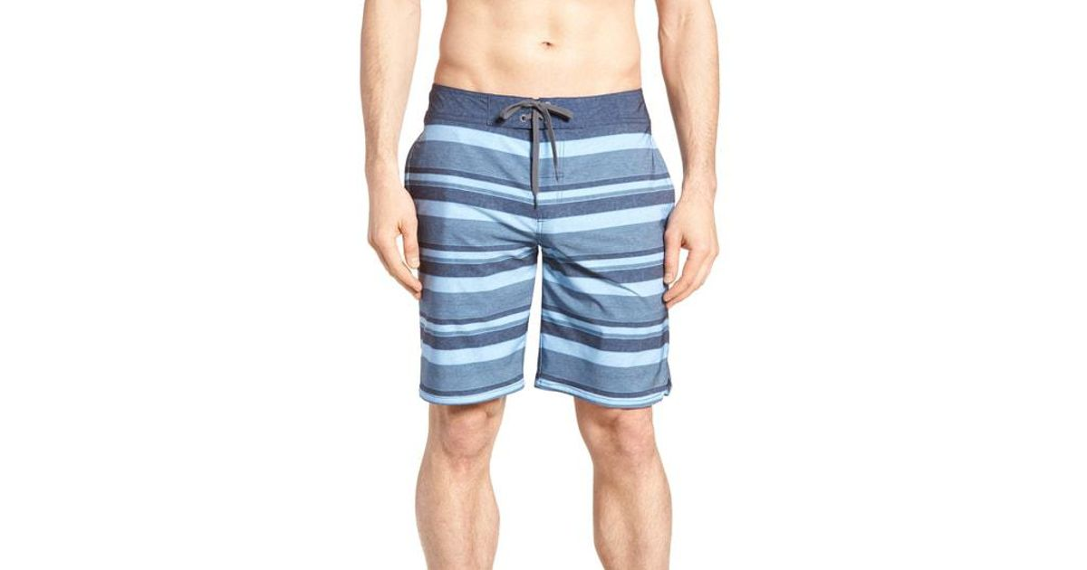 545d0c81d4 Travis Mathew Colinas Regular Fit Board Shorts in Blue for Men - Save 30% -  Lyst