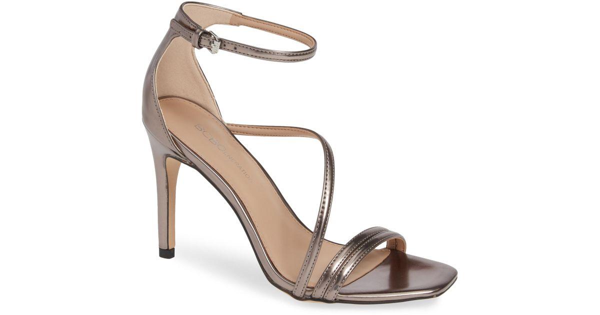3d94547dd09 Lyst - Bcbgmaxazria Isabel Ankle Strap Sandal