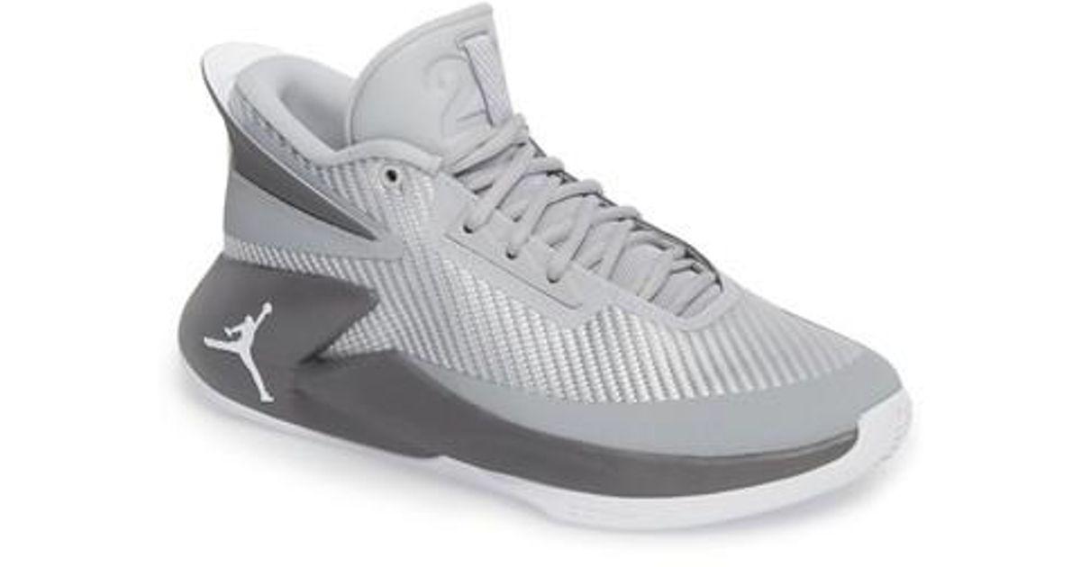 premium selection a8b95 56aac Nike Jordan Fly Lockdown Sneaker in Gray for Men - Lyst