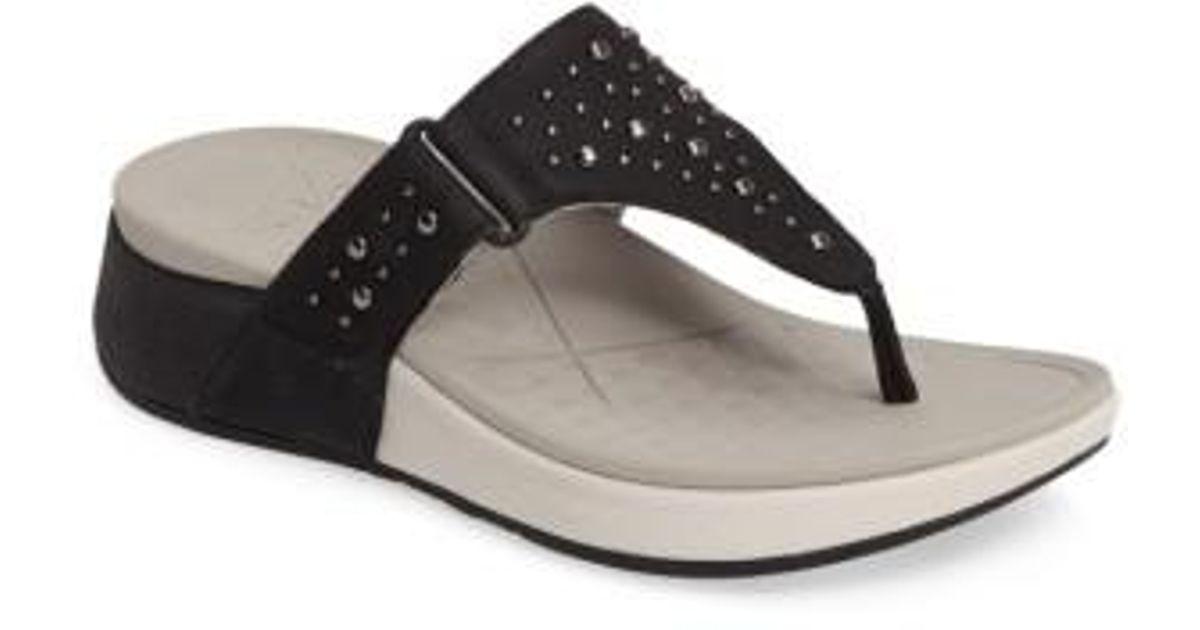 128154e146ea Lyst - Dansko Catalina Sandal in Black