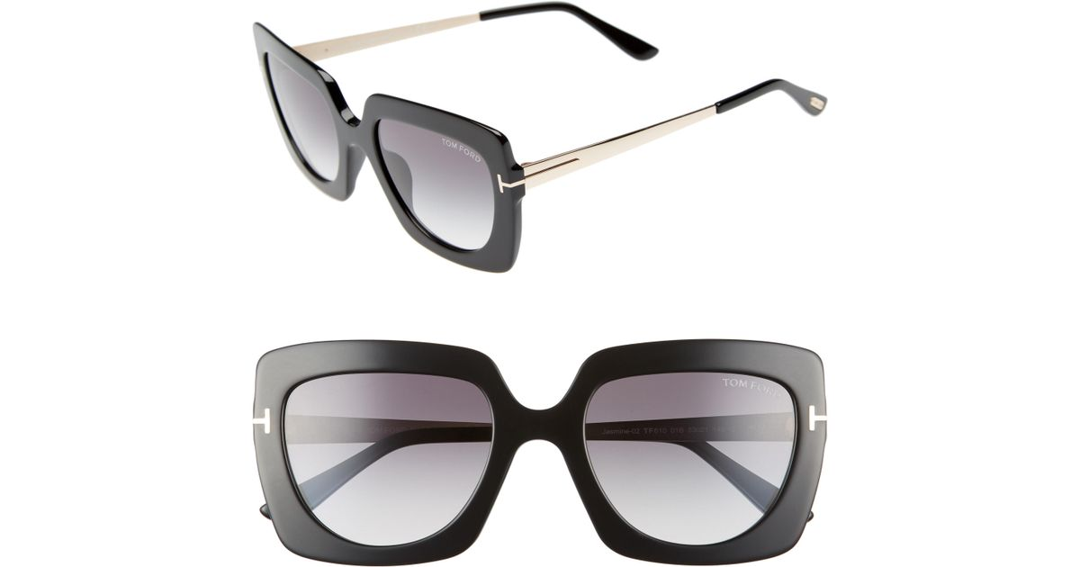 fb75dc4ddf Lyst - Tom Ford Jasmine 53mm Sunglasses -