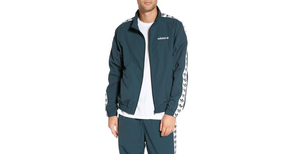 Lyst Adidas Originals Originals Tnt Trefoil Windbreaker In Green