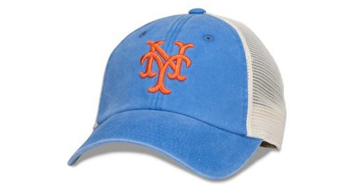 0c09d0330f5 Lyst - American Needle New School Mlb Trucker Hat in Blue for Men