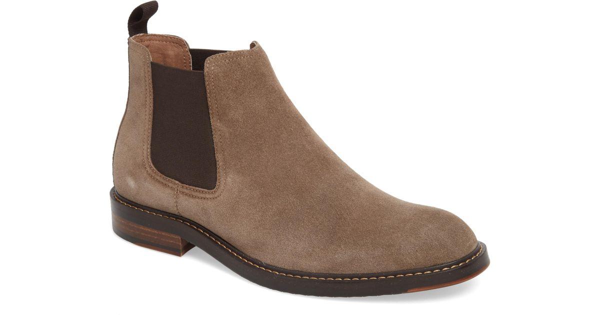 983d6938b647c Lyst - Nordstrom 1901 Brooks Chelsea Boot in Natural for Men