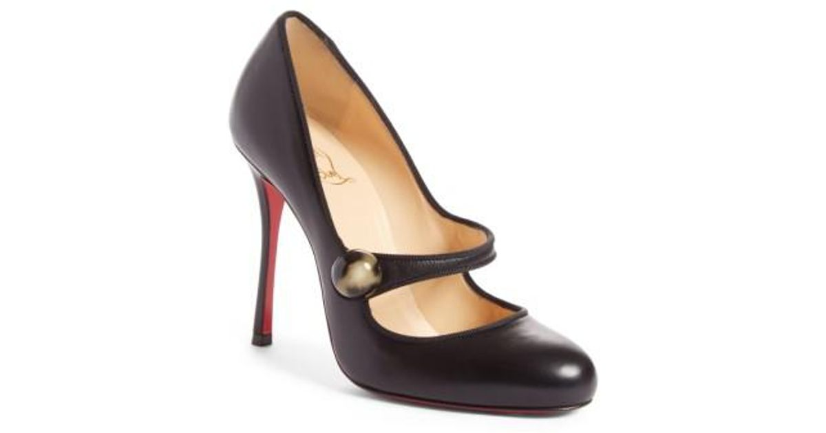 Christian Louboutin Mary Jane Patent Leather Pumps good selling sale online buy cheap Inexpensive big discount for sale buy cheap purchase bjr11