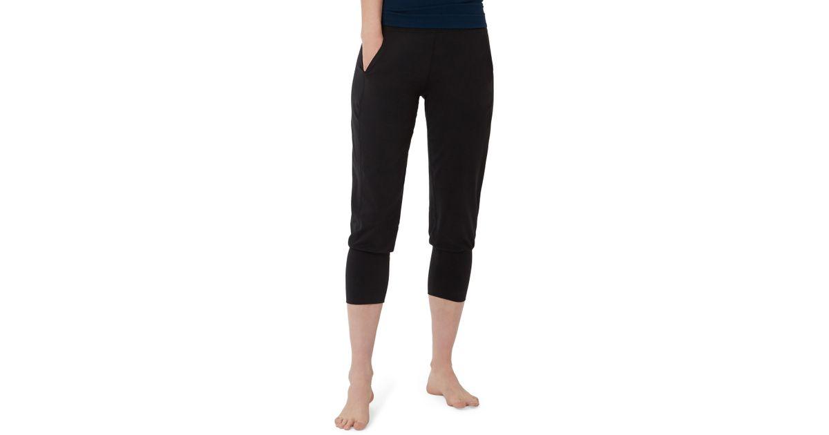 c82319832a Sweaty Betty Garudasana Crop Yoga Trousers in Gray - Lyst