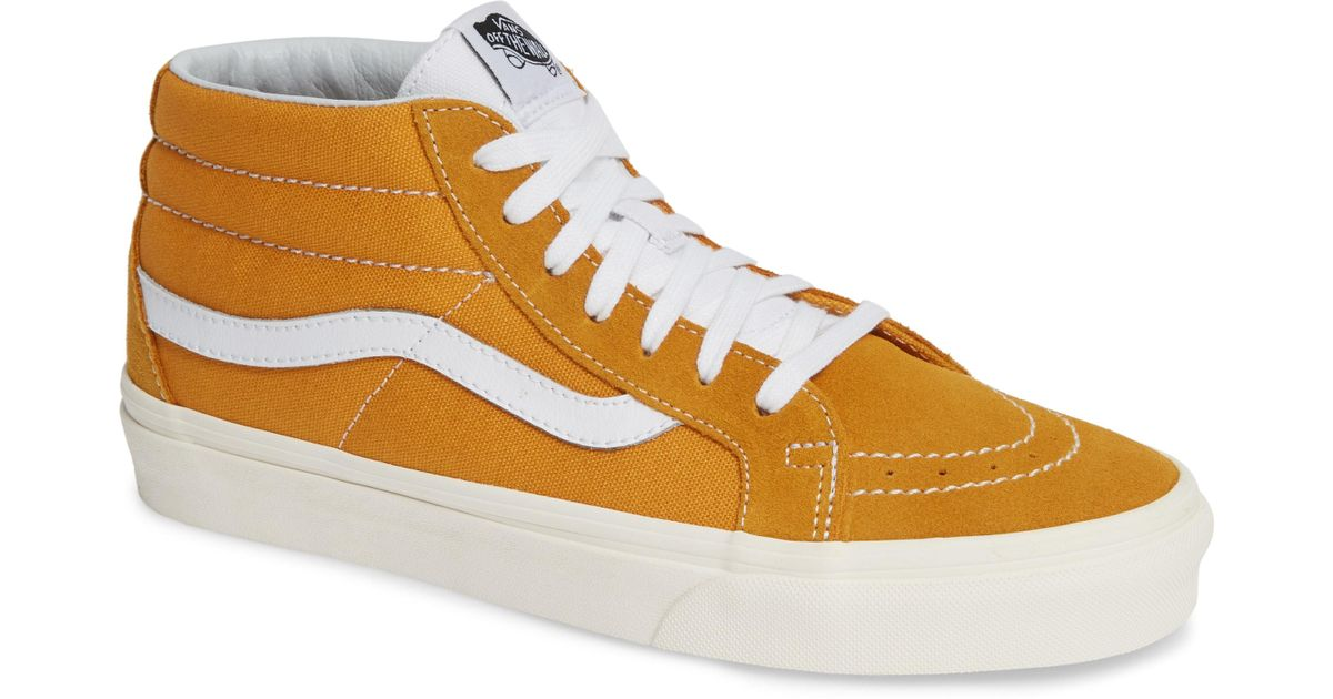 502dceb1aa Lyst - Vans Sk8-mid Reissue Sneakers for Men