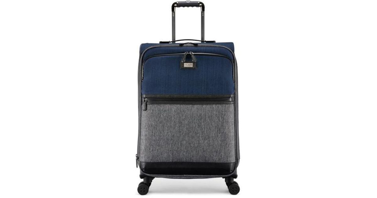 e43bb81c6ed Lyst - Ted Baker Brunswick 27-inch Rolling Suitcase in Gray