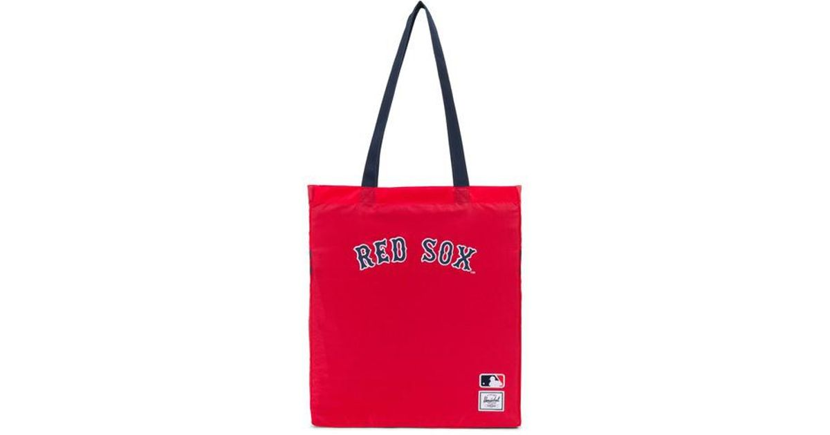 97c1e2ee0ce Lyst - Herschel Supply Co. Redsox Packable Tote in Red