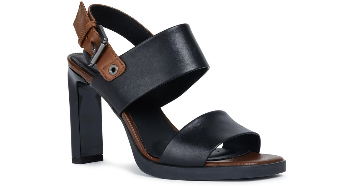 a622a05a187 Lyst - Geox Jenieve 1 Sandal in Black - Save 1%