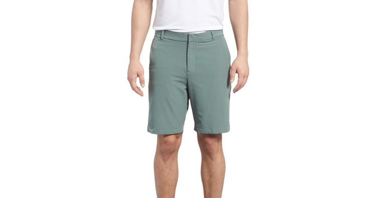 7f0c7c48128a Lyst - Nike Dry Flex Slim Fit Golf Shorts in Green for Men