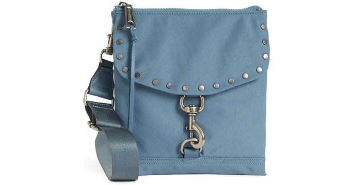 f925ae524 Rebecca Minkoff Nylon Flap Crossbody Bag - Lyst
