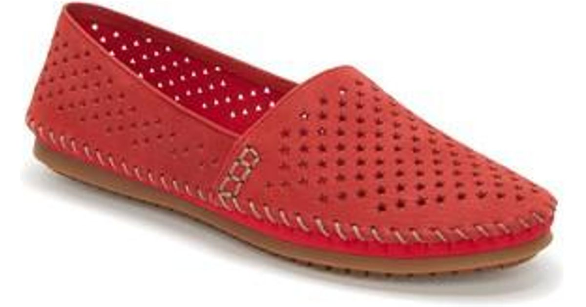 PERFORATED - Slipper - red