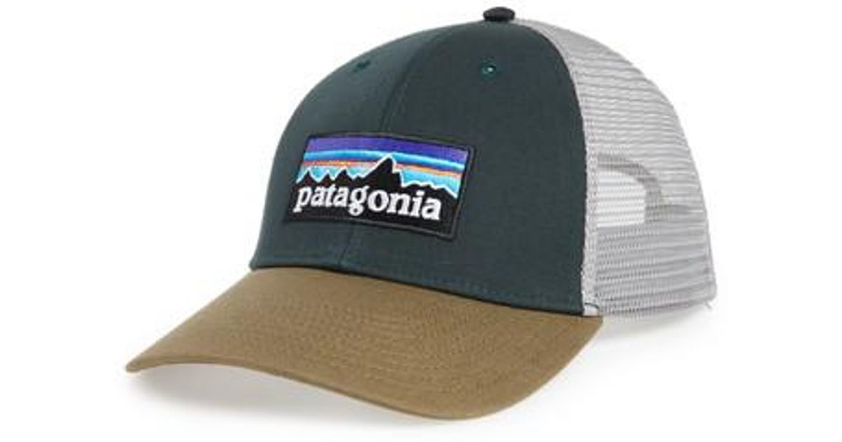 1aae7d6bd71ff Lyst - Patagonia  pg - Lo Pro  Trucker Hat in Green for Men