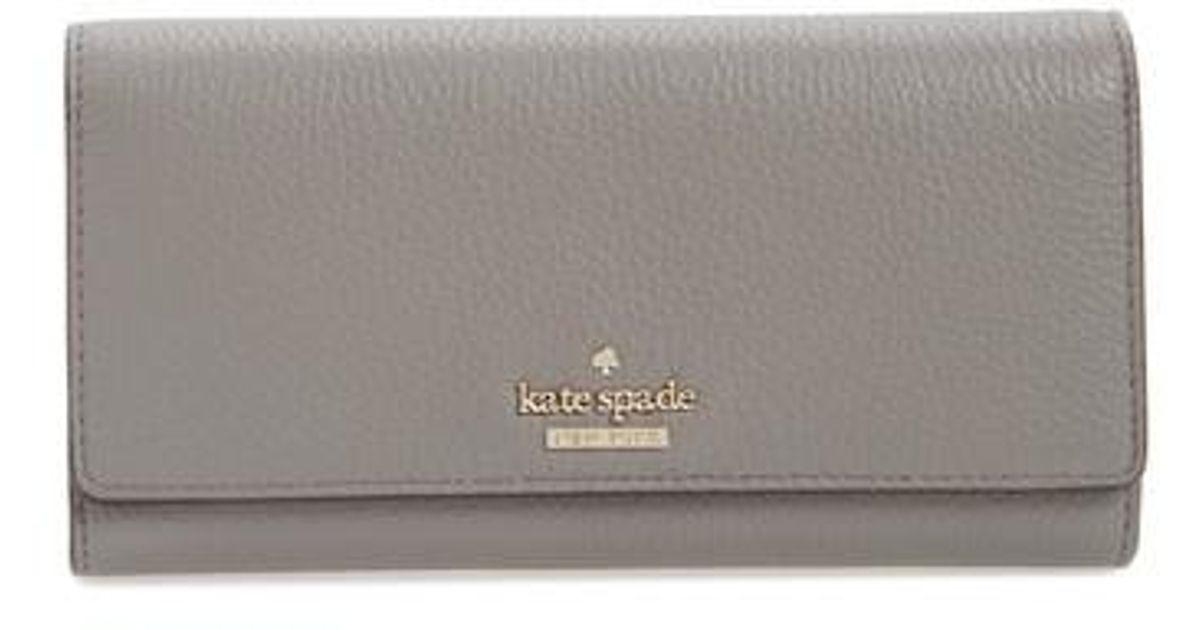 292f18498655 Lyst - Kate Spade Jackson Street - Celina Leather Wallet
