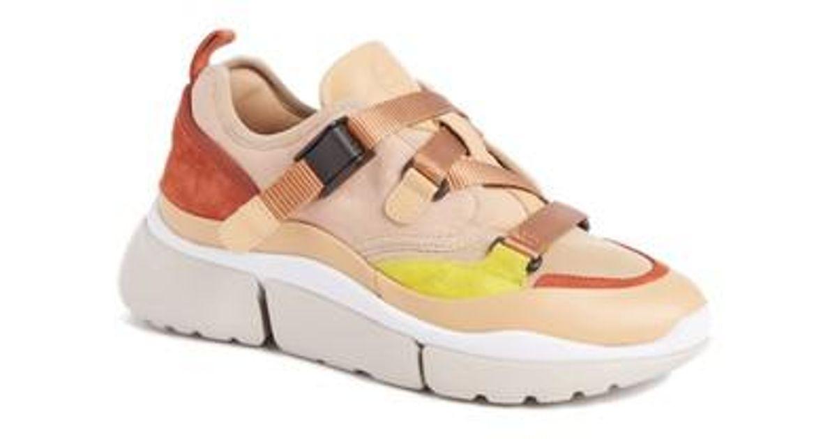 Sortie D'usine Pas Cher En Ligne Chloé Sonnie sneakers Sortie 100% Original Jeu 100% Authentique 4iu4g3M3C
