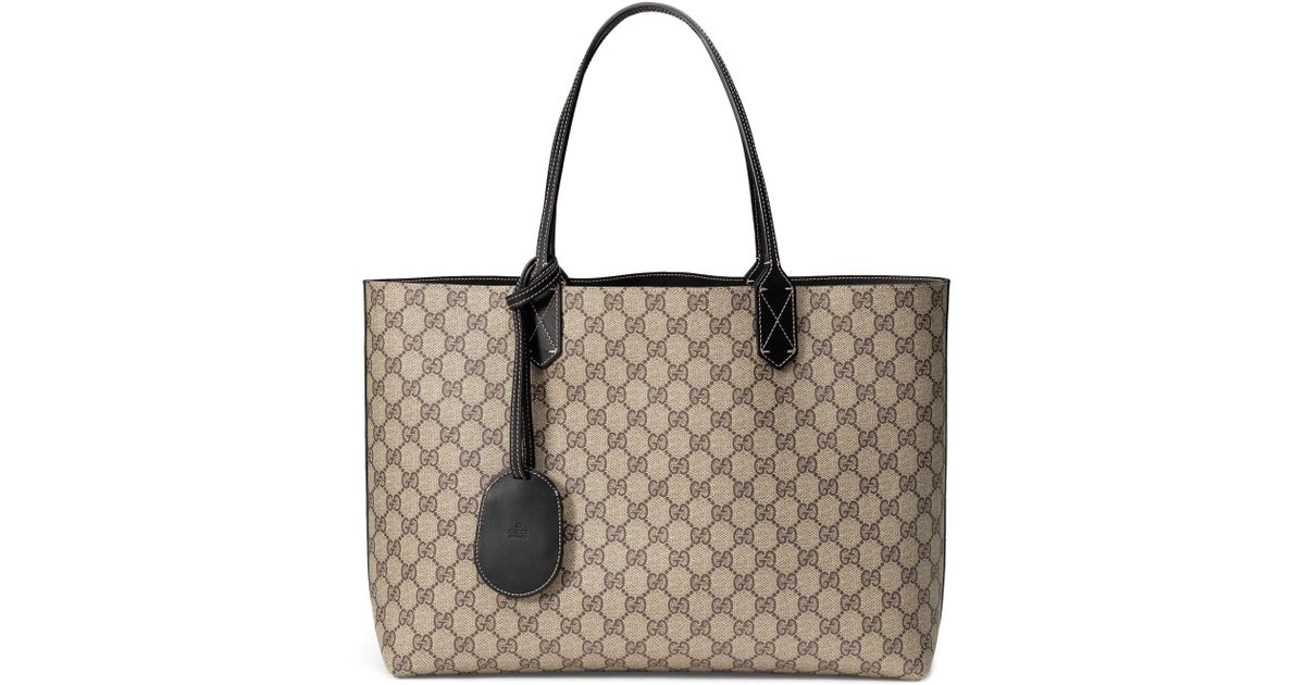 29c7b99db337 Gucci Turnaround Medium Reversible Leather Tote - None - Lyst