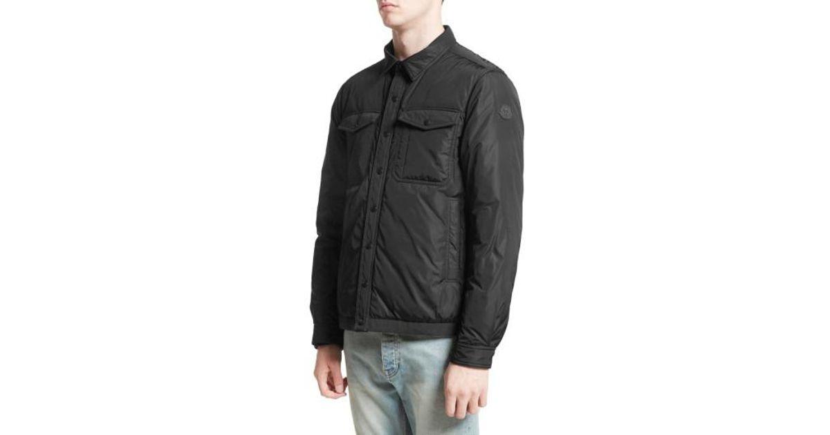 910dd2ef4 Moncler Blue Erault Work Jacket for men