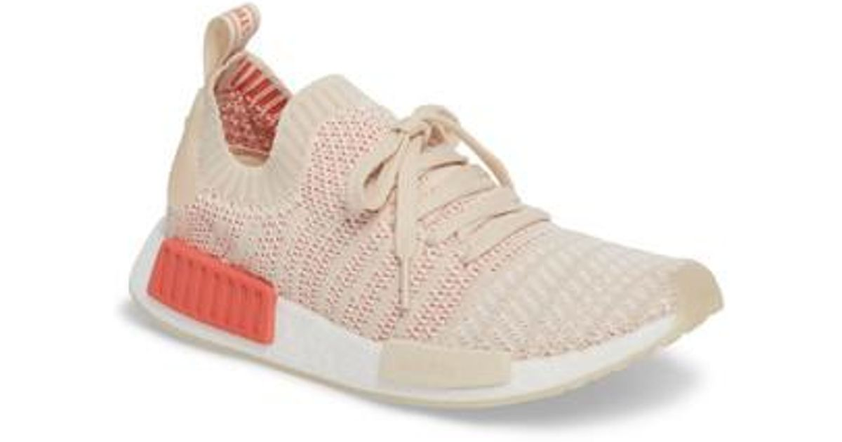 a8e92806fac80 Lyst - adidas Nmd R1 Stlt Primeknit Sneaker in White for Men