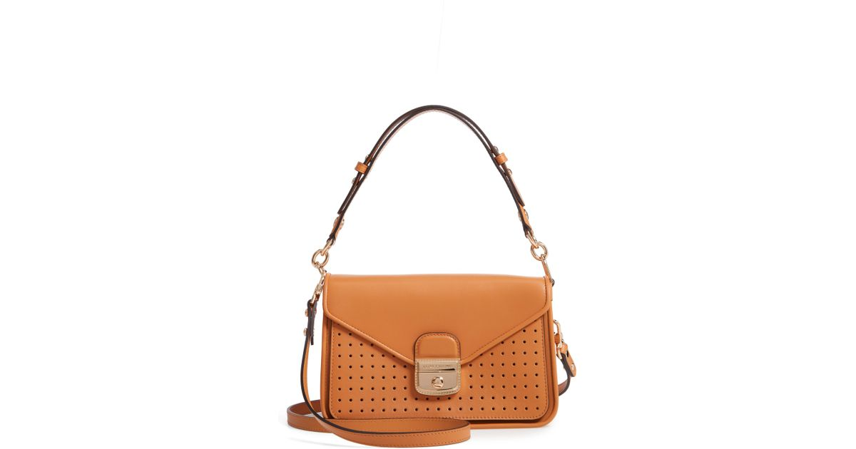 Lyst - Longchamp Mademoiselle Crossbody Bag in Orange - Save  9.508196721311478% c0b1a881ba