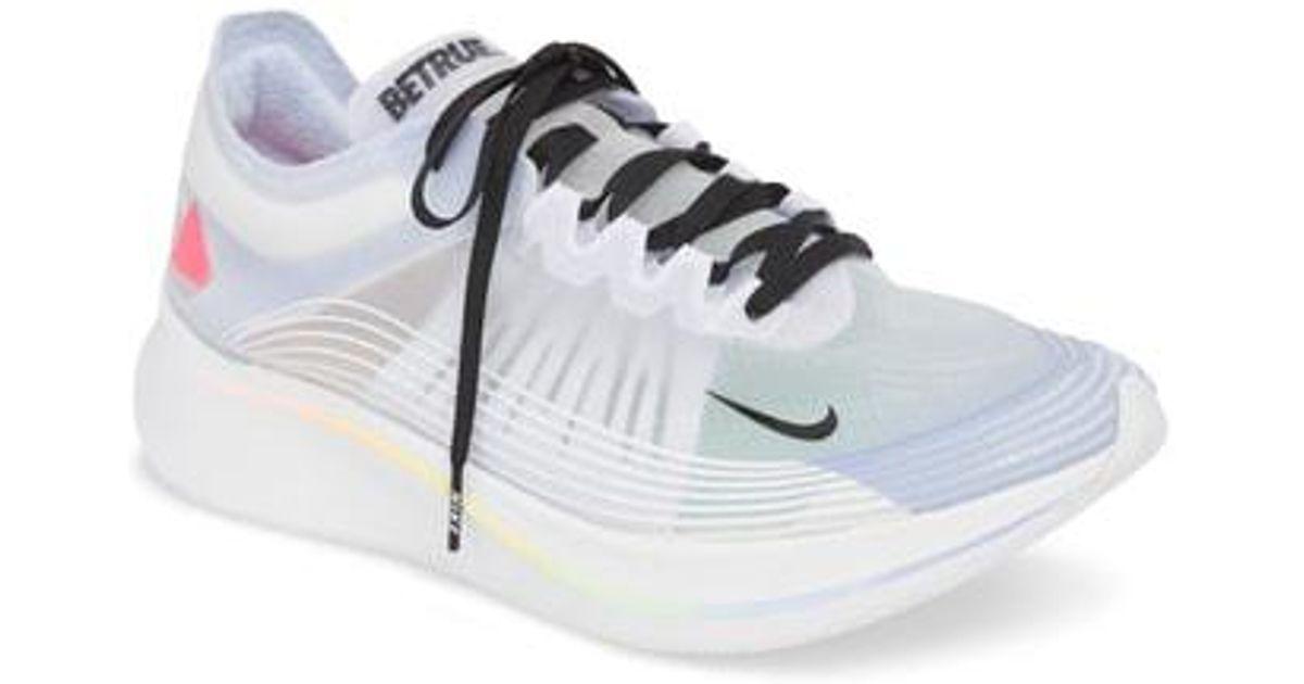 22598174af99 Lyst - Nike Nordstrom X Zoom Fly Betrue Racing Sneaker in Gray for Men