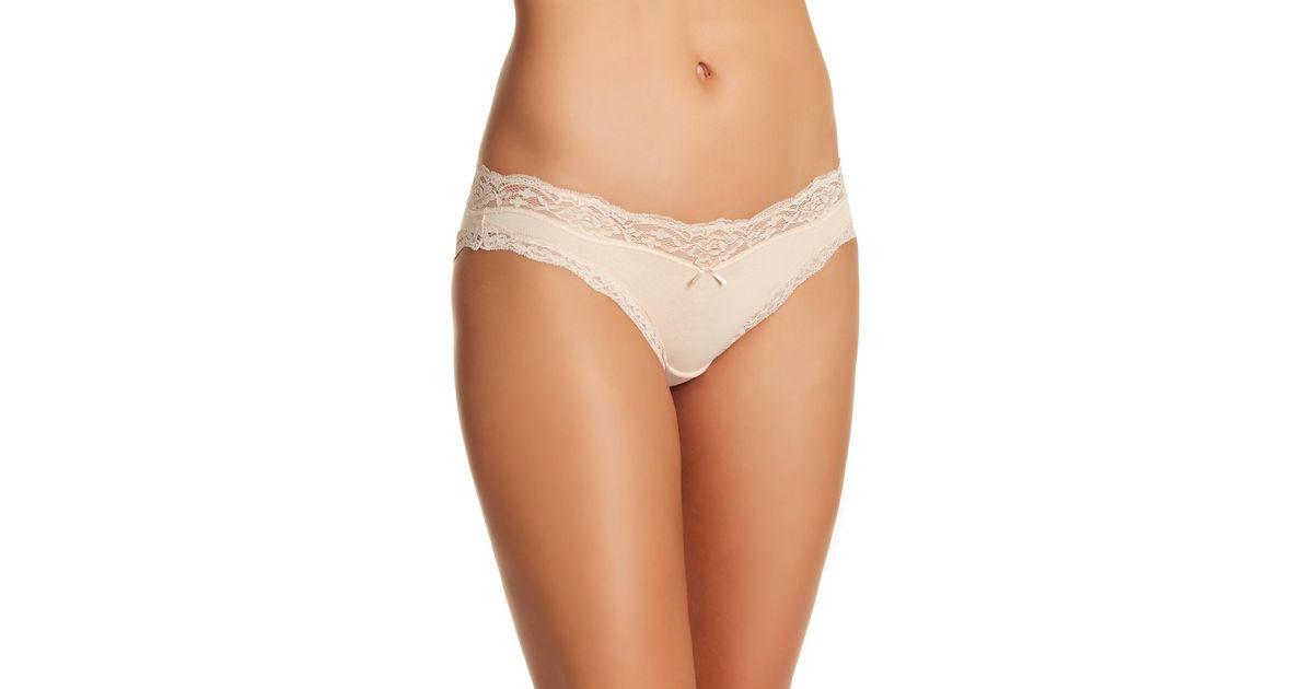 e75883ecb902 DKNY Downtown Bikini Panties in Natural - Lyst