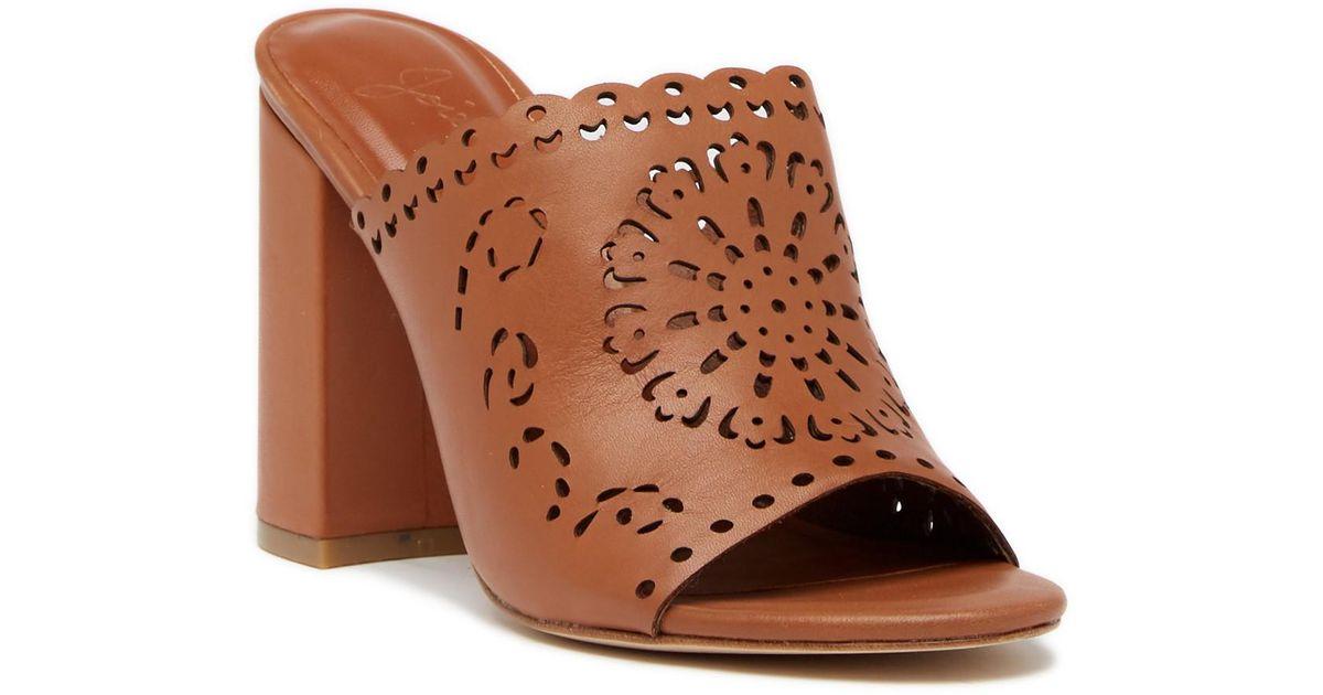 915bdc80743 Lyst - Joie Laban Block Heel Sandal in Brown
