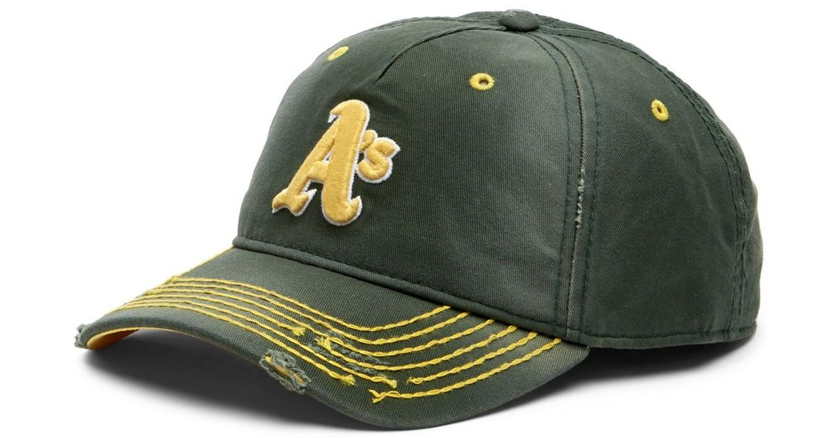 buy online 3aa37 8541f ... new arrivals lyst american needle oakland athletics baseball cap in  green for men ce33e 70fc6