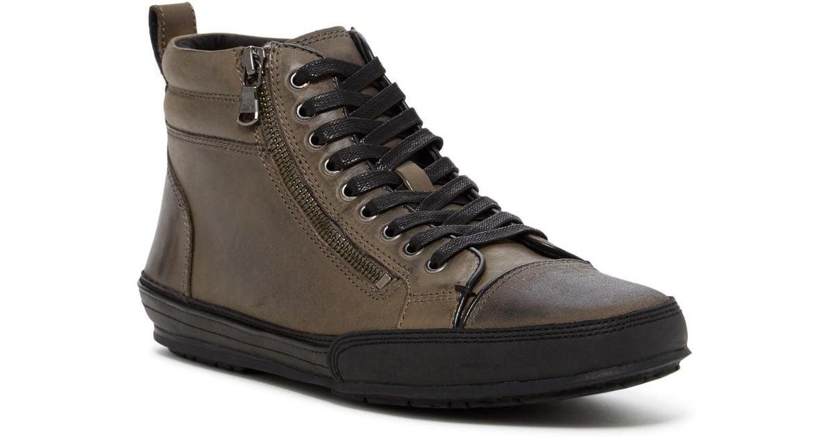 John Varvatos Star R Zip Hi-Top Sneaker AOYhv4