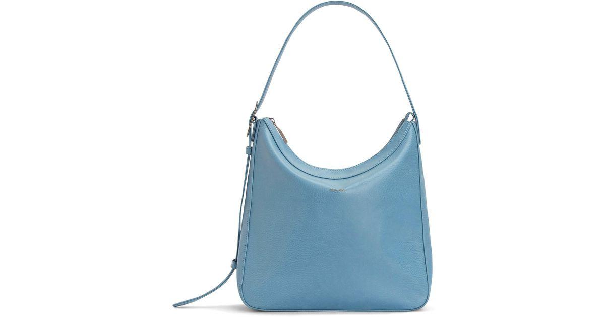Lyst - Matt   Nat Glance Vegan Leather Hobo Bag in Blue f6907714c1d2e