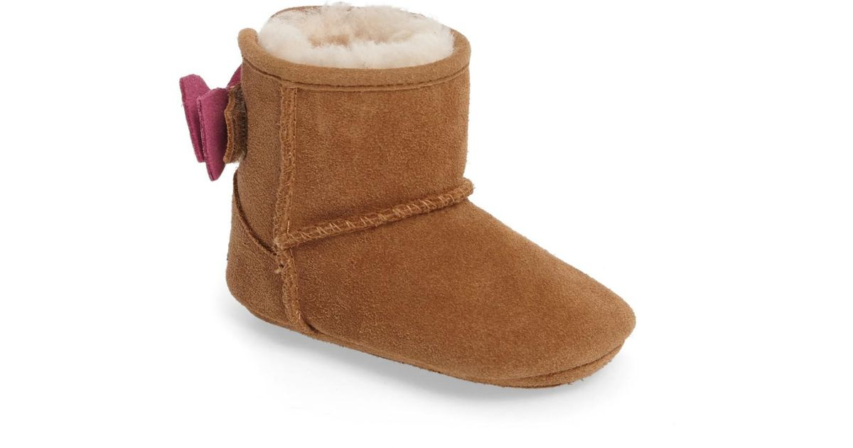 23636f91ce3 Lyst - Ugg (r) Jesse Bow Ii Dots Boot (baby   Walker) in Brown