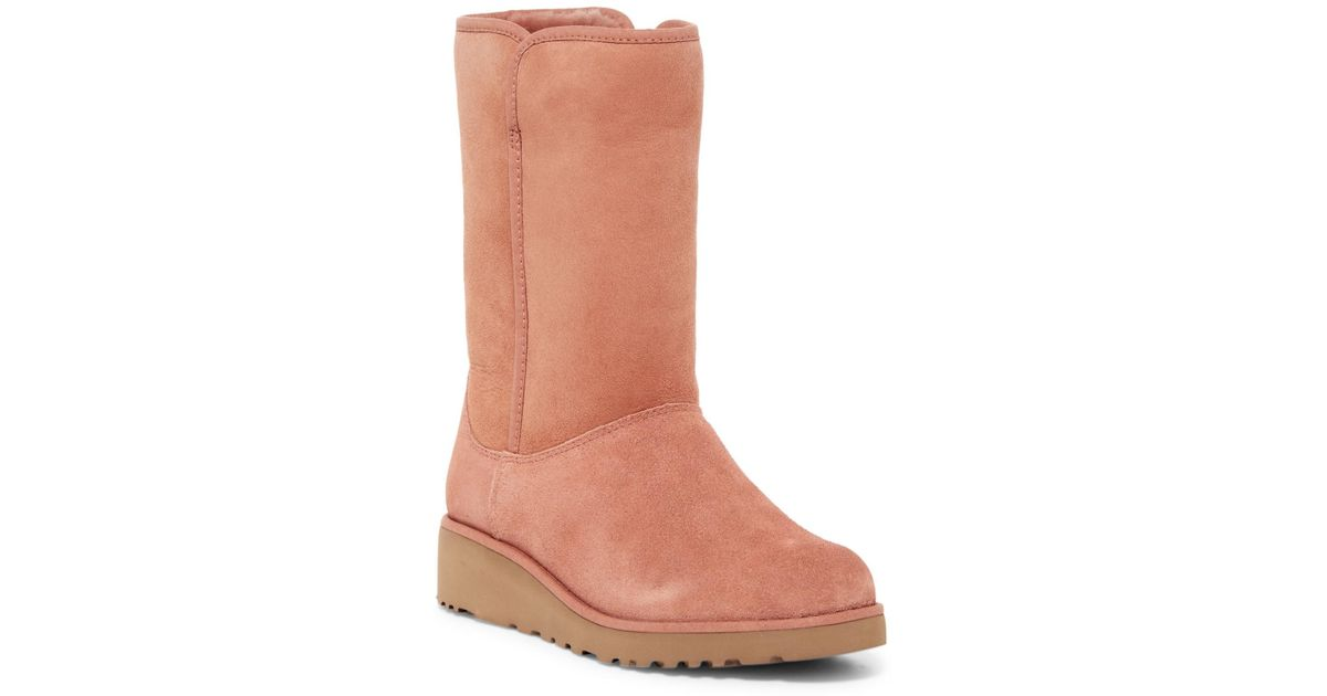 cc373e3027b Ugg - Brown Amie - Classic Slim(tm) Water Resistant Short Boot - Lyst