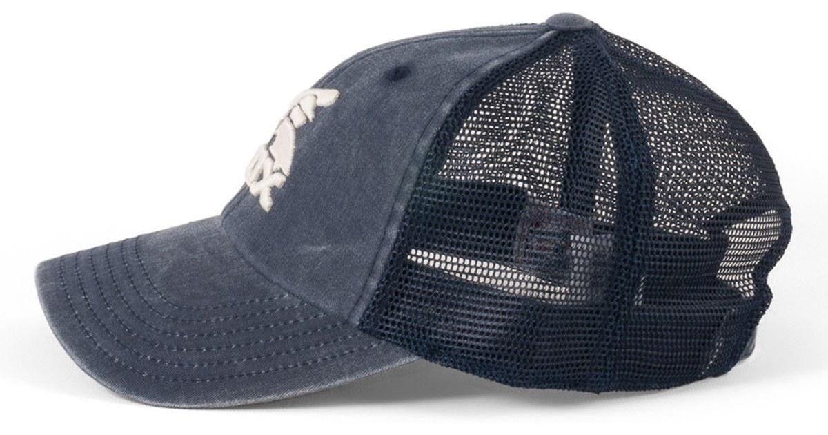 598436dfae262 Lyst - American Needle Chicago White Sox Raglan Bones Mesh Baseball Cap in  Blue for Men