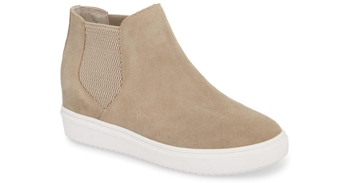 97695879599 Lyst - Steve Madden Sultan Chelsea Wedge Sneaker (women) in Brown