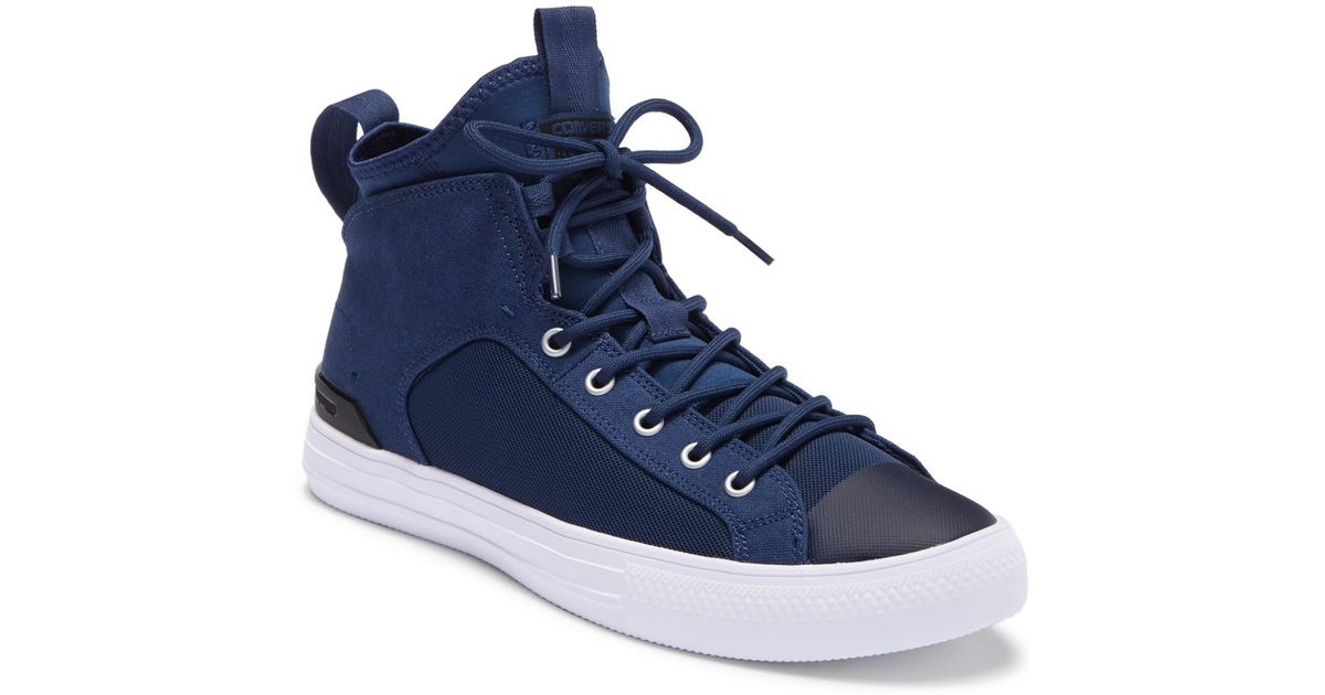 Lyst - Converse Chuck Taylor All Star Ultra Mid Sneaker (unisex) in Blue  for Men 128be2066b0