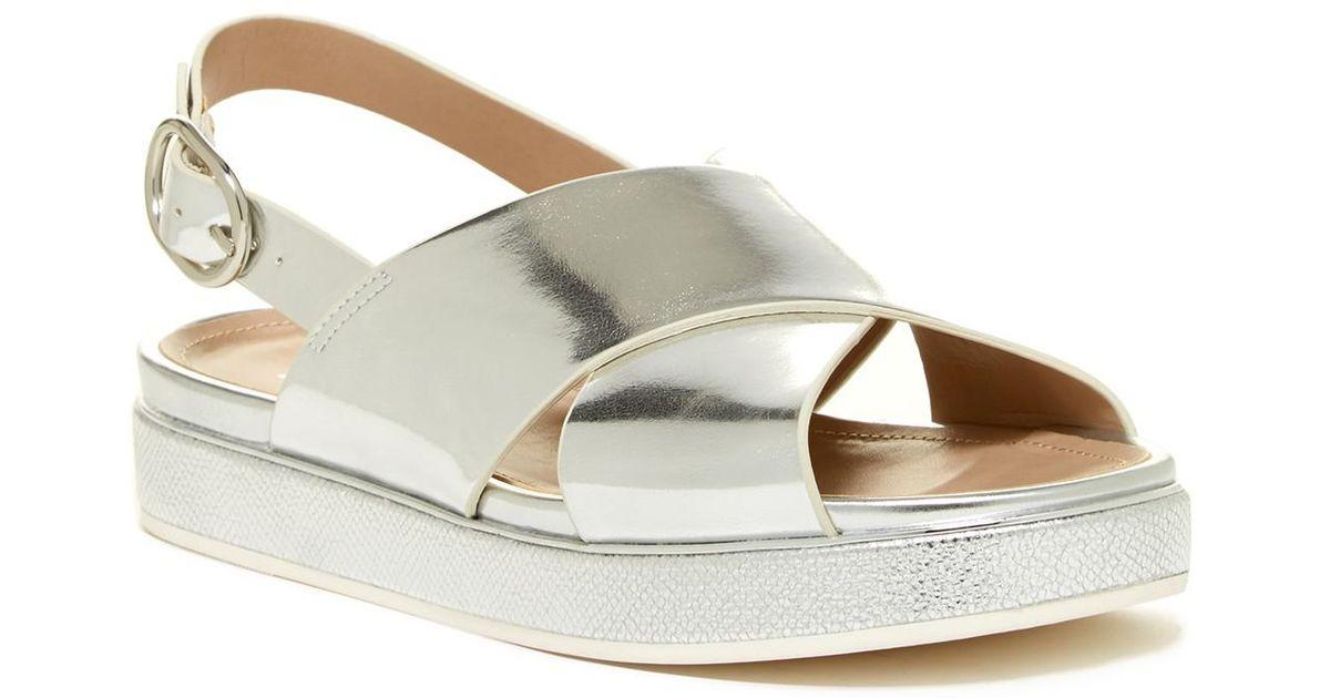 cf0d76cfa504 Lyst - ALDO Glaros Sandal in Metallic
