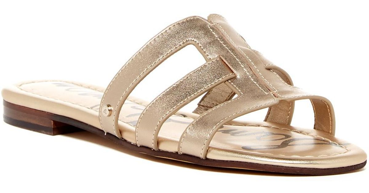 ce6d3b38024 Lyst - Sam Edelman Berit Sandal in Metallic