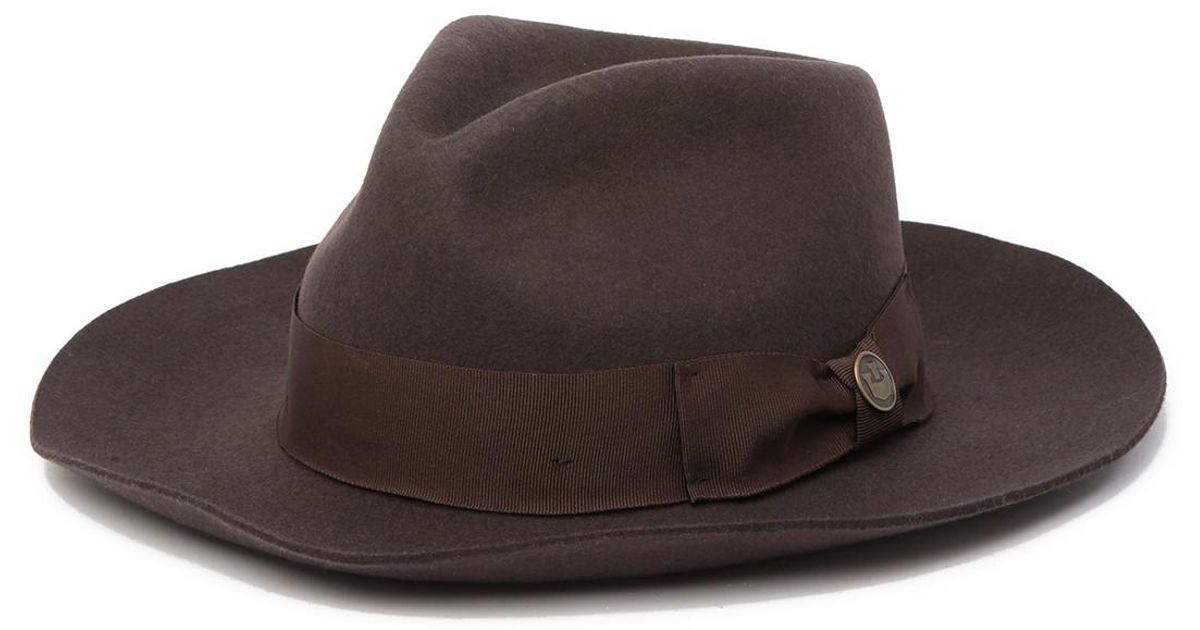 d9078a64352d2 Lyst - Goorin Bros The Bookie Wool Fedora in Brown for Men