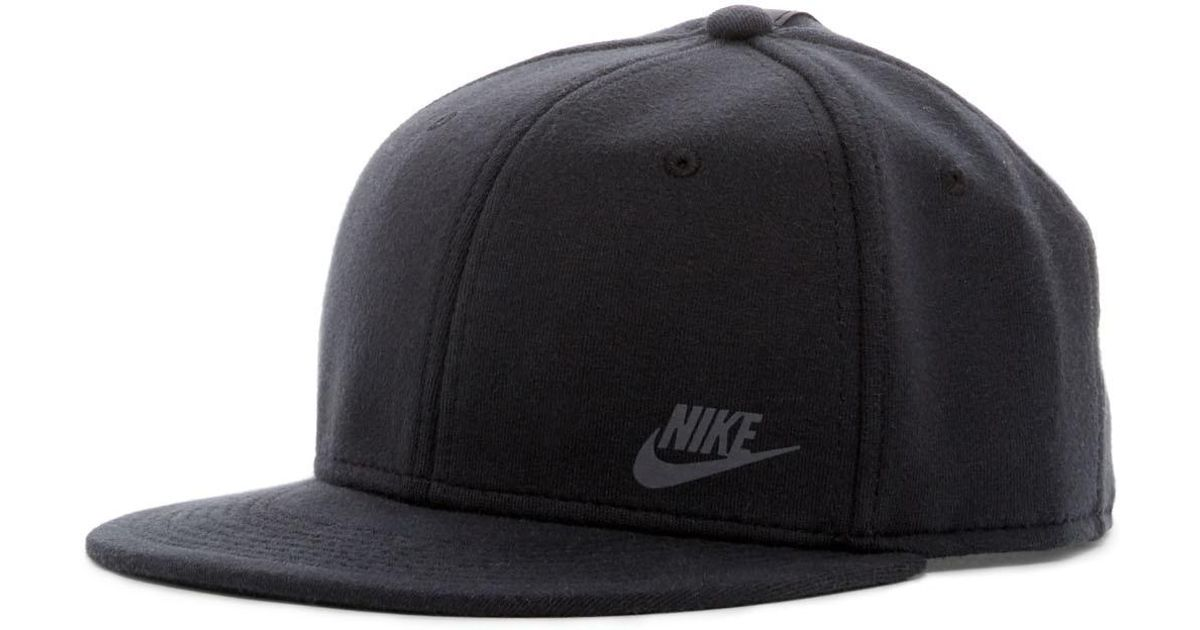 16185937342f1 Nike Tech Pack True Snapback Cap in Black for Men - Lyst