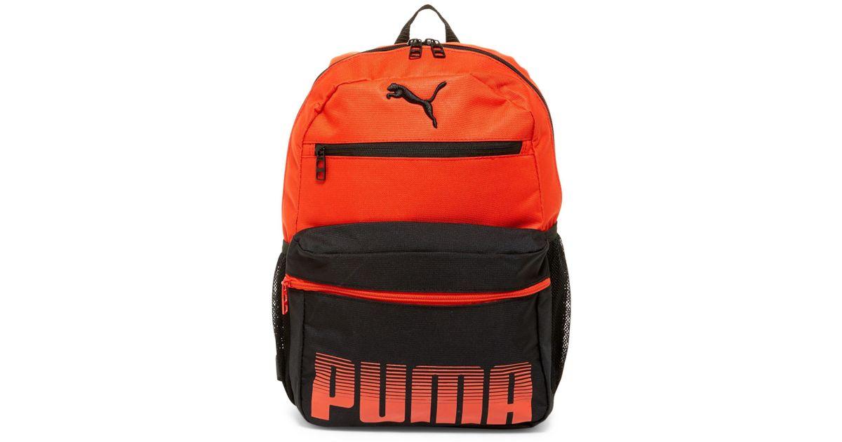 8726b4daf967 Lyst - Puma Meridian Jr Backpack in Red for Men