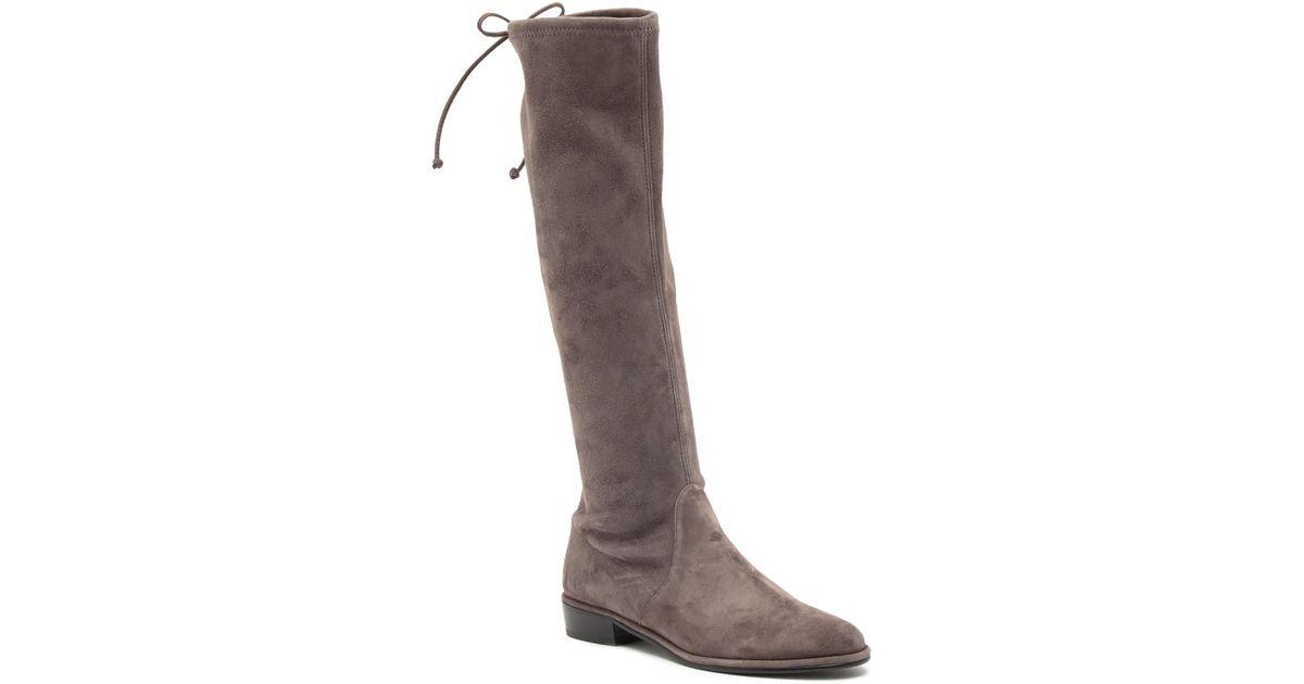 bdbd8e7499e Lyst - Stuart Weitzman Kneezie Boot in Brown