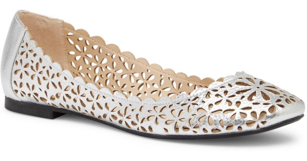 Athena Alexander Annora Perforated Flat