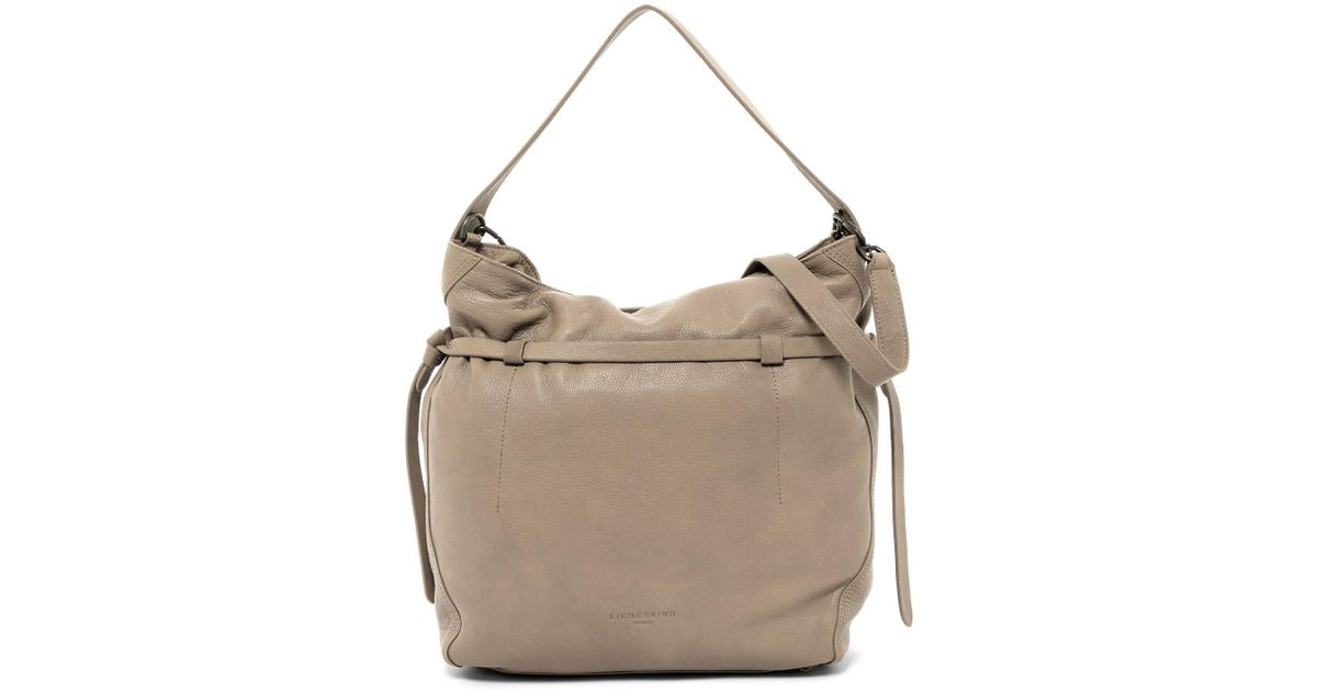2a38f4ded4 Lyst - Liebeskind Berlin Vintage Lux Collection Lincoln Leather Shoulder Bag