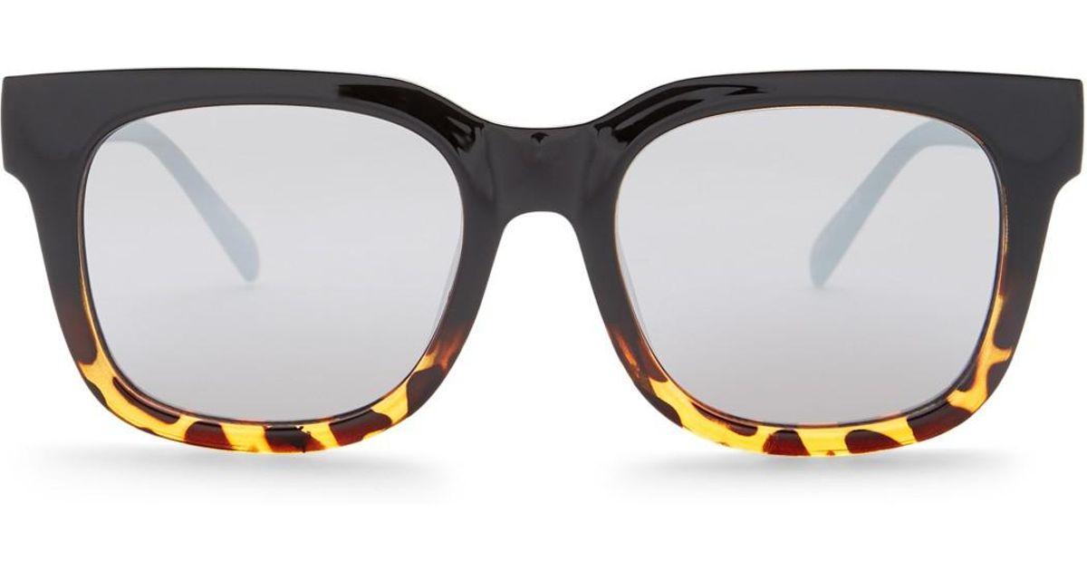 9686c63182c07 Quay Libre 70mm Square Sunglasses - Lyst