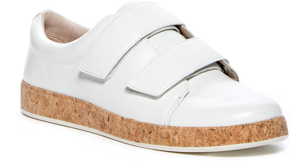 ff45f9200f5 Lyst - Vince Camuto Chella Perforated Sneaker in White