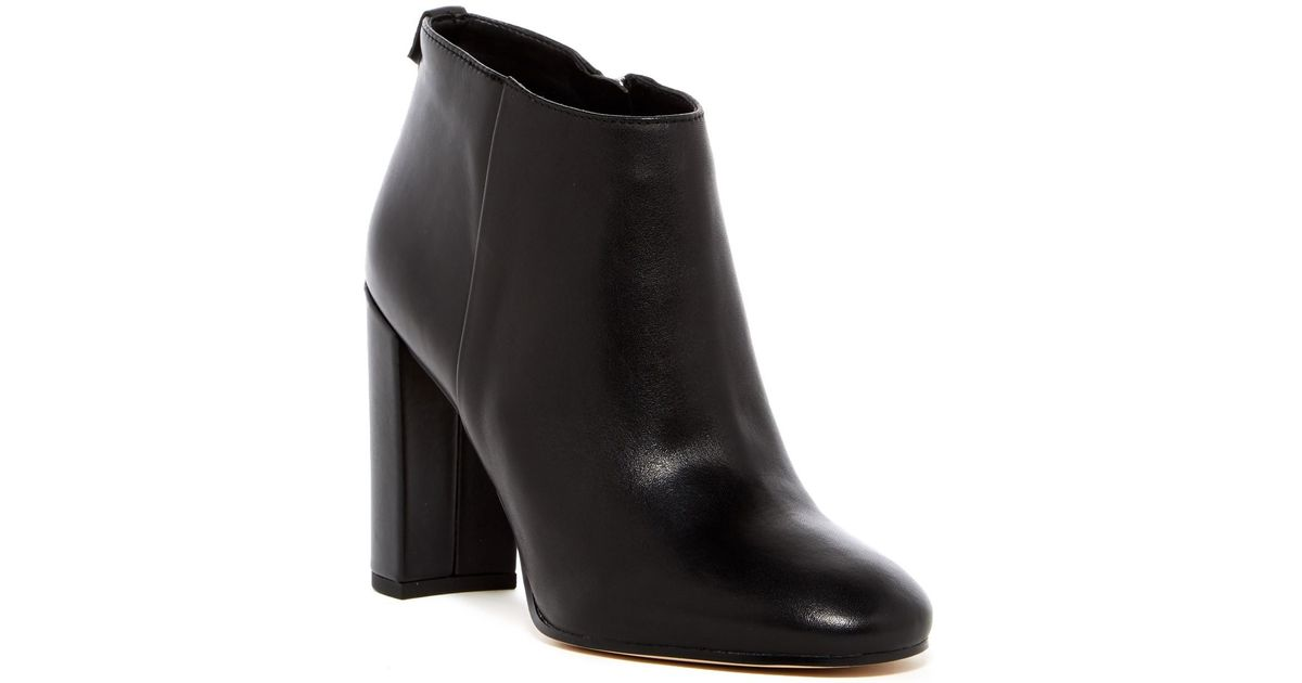 20646e557 Lyst - Sam Edelman Cambell Heeled Bootie in Black