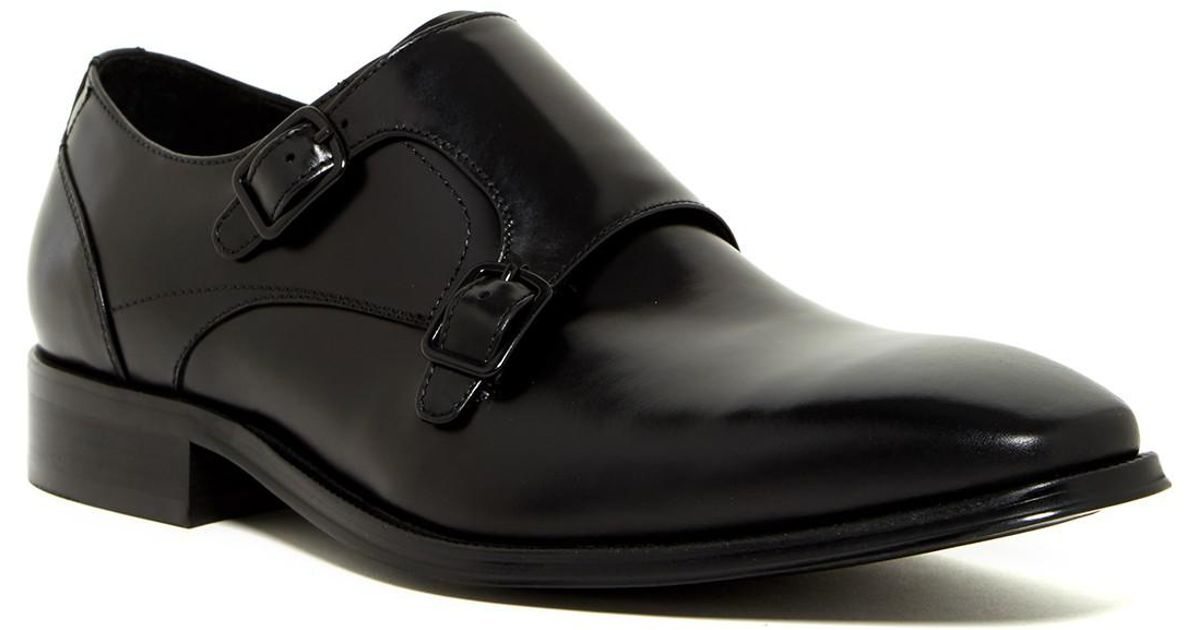 Lyst Kenneth Cole Cover t Monk Strap Schuhe in in in schwarz for Men a5dbf2