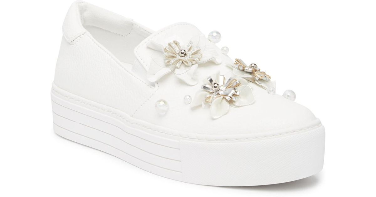 Kenneth Cole Reaction Cheer Floral Slip-On Platform Sneaker wvVAeDh