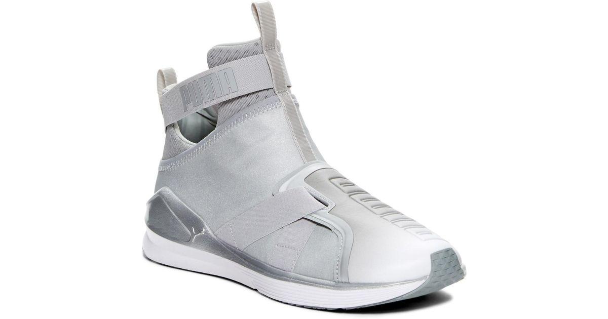 Fierce Strap Metallic Sneakers 0BeHB