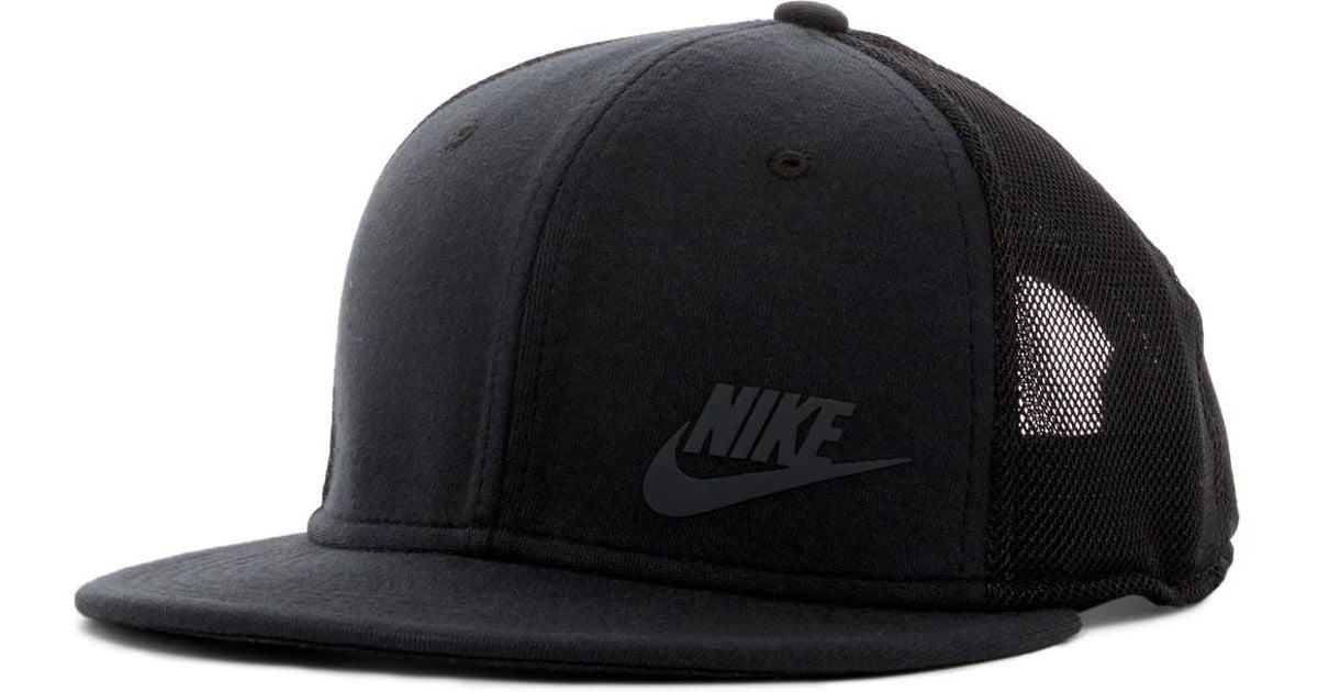 fe07eec2 ... coupon code for lyst nike tech pack true snapback cap in black for men  eaa3b 36d36